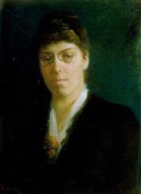porträt einer frau by louise amans