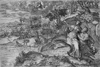 die tiburtinische sibylle zeigt kaiser august die erscheinung der madonna mit dem kind by marco angolo del moro