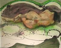 mujer dormida by julio lavallen