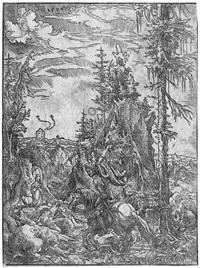 der hl. georg mit dem drachen by wolf huber