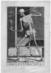 allegorie auf den ruhm nach dem tod (post funera, vita) by hendrik hondius the elder