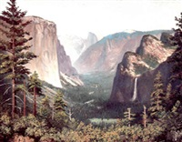yosemite valley by andrew putnam hill