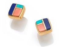 earrings by charles loloma