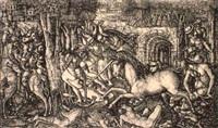 la chasse royale assailie par une licorne by jean duvet