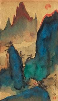 黄山奇峰 by liu dajiang