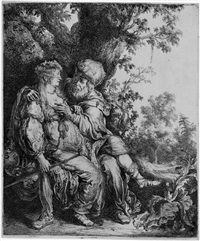 judah und tamar by pieter lastman