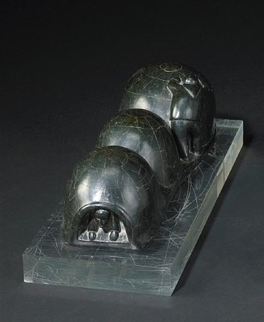 three chambered igloo by samson nastapoka