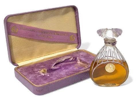 figural perfume bottle orchidée by julien viard