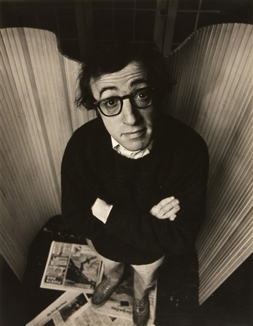 woody allen by philippe halsman