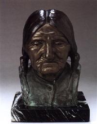 hopi indian man, walpi, arizona by emry kopta