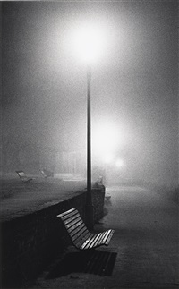 nightwalk, surrey, england by michael kenna