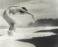 untitled (nudes) (3 works) by iwase yoshiyuki