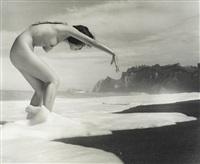untitled (nudes) (3 works) by iwase yoshiyuki