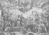 der prophet ezechiel by giovanni battista fontana