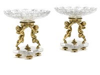 tazza (pair) by baccarat