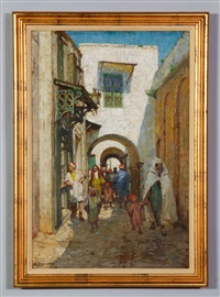 street in tunis by anna richards brewster