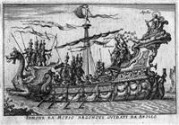 le magnifique carousel fait sur le fleuve de l'arne à florence pour le mariage du grand duc ... 15 works w/title pg.) by baltazar moncornet