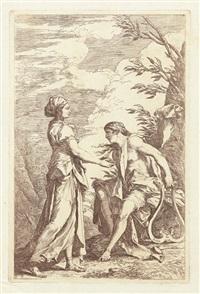 apoll und die cumäische sibylle by salvator rosa
