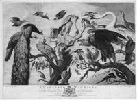 a concert of birds (after mario de fiori) by richard earlom