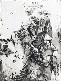ohne titel. acht (12 works) by horst janssen