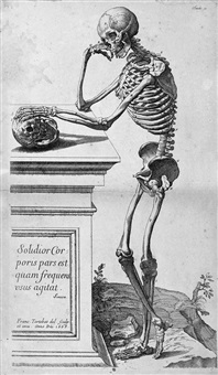 abregé d'anatomie (bk w/10 works and intro, folio) by roger de piles