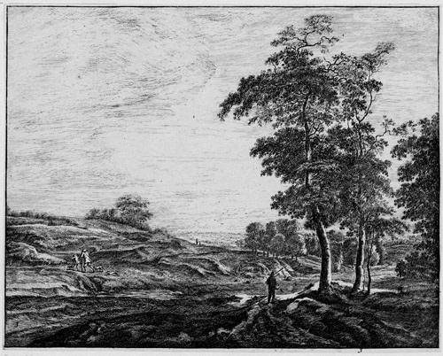 landschaften mit ansichten von den haag haagse bos portfolio of 6 by roelant roghman