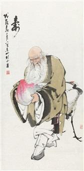 寿星 by lin shaodan