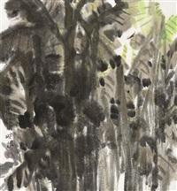 芭蕉被雨 by xiao yingmei