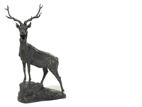 stag by alfred barye