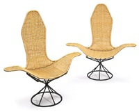 armchairs (pair) by danny ho fong