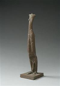 brown figure by mo jupp