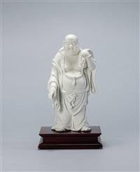 布袋弥勒佛瓷塑 (buddha maitreya, a sculpture) by xu xingze