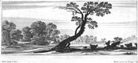 südliche landschaften mit figuren (6 works in collab. w/francois collignon) by gabriel perelle