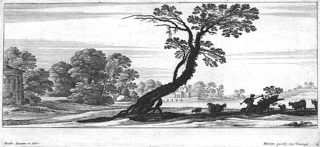südliche landschaften mit figuren 6 works in collab wfrancois collignon by gabriel perelle