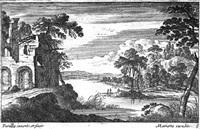 landschaften mit ruinen und bauwerken (6 works) by gabriel perelle