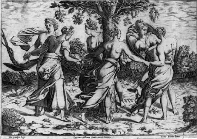 tanz der dryaden by pierre milan