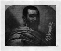 folge von gelehrten und philosophen (suite of 4) by wallerant vaillant