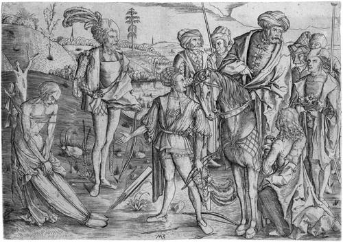 das schießen auf den toten vater das martyrium des hl sebastian by matthaus zasinger