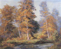 forest landscape by frances keffer