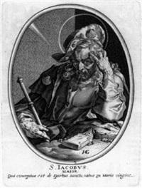 christus und die apostel by baltazar moncornet