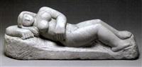 reclining nude by jean de marco