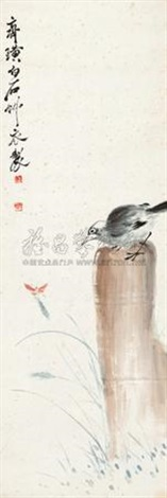 白头翁 by qi baishi
