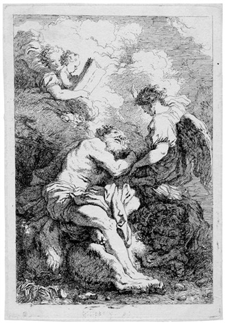 der hl hieronymus after johann liss by jean honoré fragonard