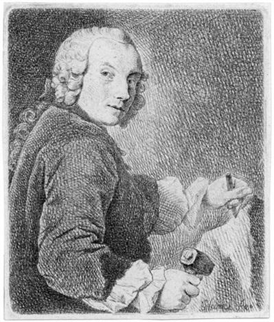 Der Bildhauer Friedrich Christian Glume by Johann Gottlieb ...