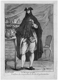le masque au caffé (from divers portraits) by giovanni david