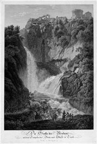 die grotte des neptun ... in tivoli by friedrich wilhelm gmelin