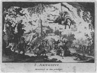 die versuchung des hl. antonius by baltazar moncornet