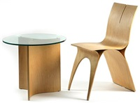 arkade chair and table (set of 2) by skip abelson