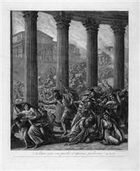 szene aus einem römischen bürgerkrieg (audituri enim estis praetia et opiniones praetiorum?) by luigi ademollo