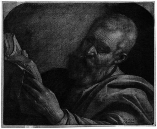 ein gelehrter lesend by wallerant vaillant